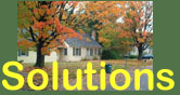"Image of house and ""Solutions"" text"
